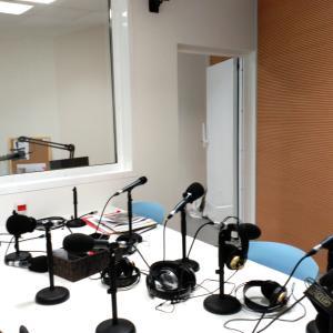 Medición en estudio de radio de reverberación