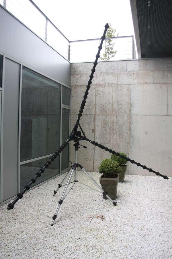 Array de micrófonos en cámara acústica